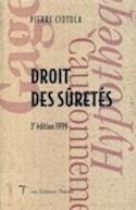 Couverture du livre Droit des sûretés